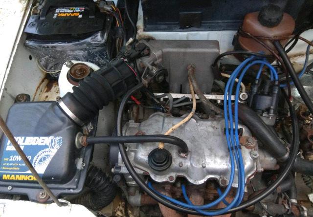 Двигатель 1.0 МТ