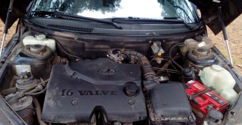 16кл двигатель 21124 1.6 л МТ 90 л.с.