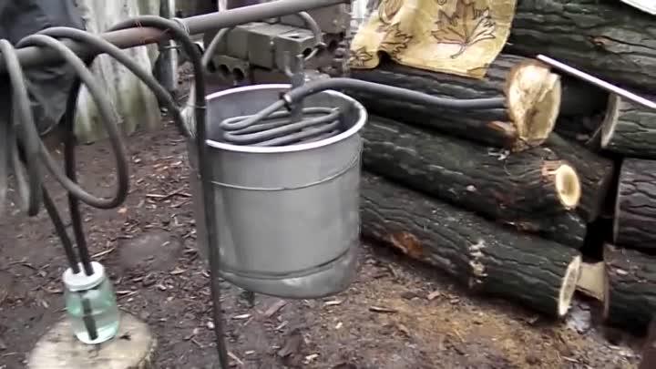 Изготовление горючего в домашних условиях