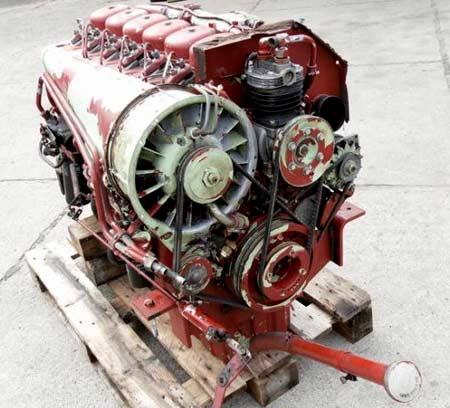 4-цилиндровый дизель ГАЗ 544