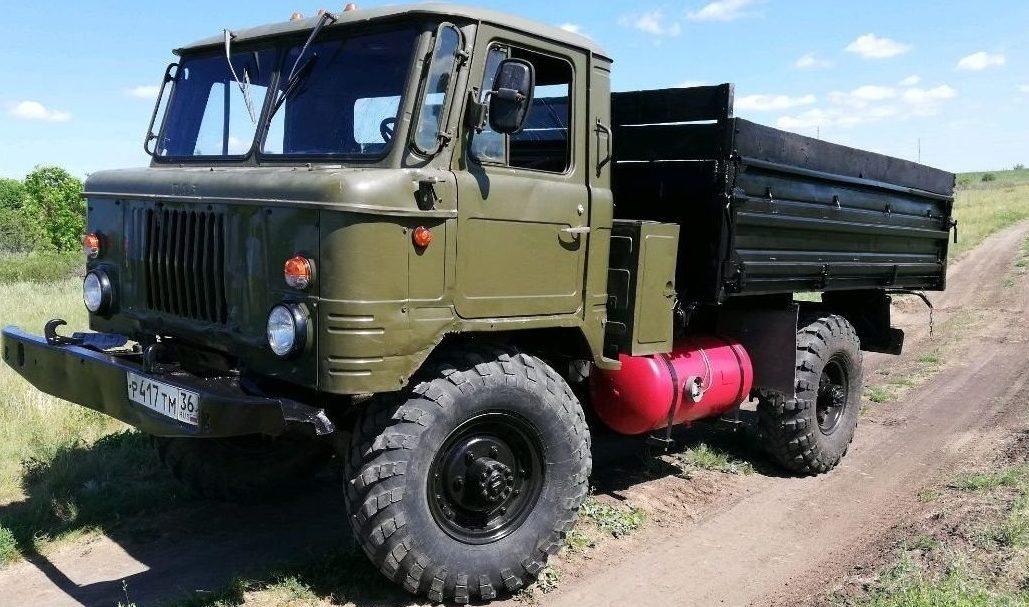 ГАЗ 66 на газу